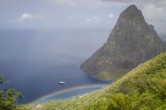 St Lucia rainbow
